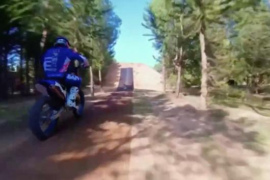 Motocross vu desairs