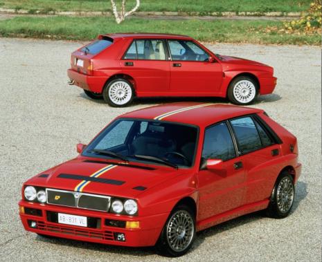 La Lancia Delta Integrale. Elle n'a jamais été distribuée en Amérique du Nord mais quelques unités--toutes d'occasion--ont traversé l'Atlantique ces dernières années. (Photo FCA)