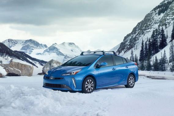 Salon de Los Angeles : la Prius AWD-e, une hybride à l'épreuve des bancs de neige