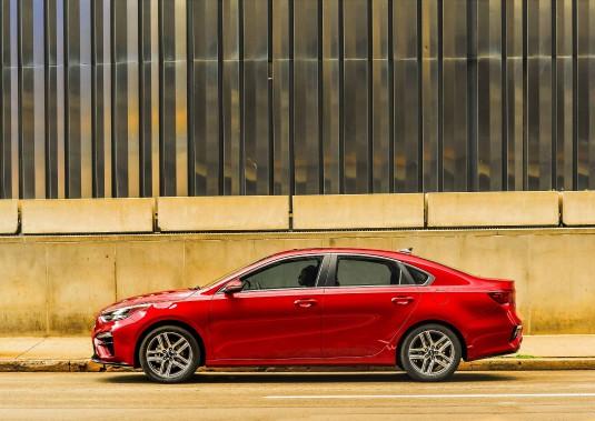 La Forte est moins excitante à conduire que certaines de ses rivales actuelles et sans doute futures (la Toyota Corolla et la Mazda 3, notamment). (La Presse)