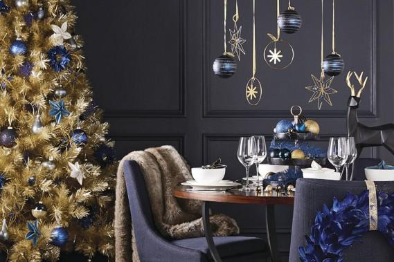<strong>CLASSIQUES RÉINVENTÉS:</strong>Grâce à ses formes géométriques prononcées, le renne se démarque et prend une allure plus moderne. «Il y a différentes façons d'interpréter des décorations traditionnelles, constate Tracy Platt, experte en style et décoration chez Canadian Tire. Plusieurs sont mises à jour». (PHOTO FOURNIE PAR CANADIAN TIRE)