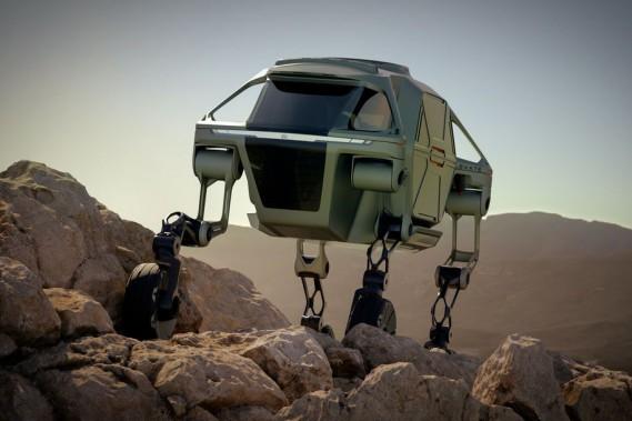 Un véhicule d'urgence qui marche : Hyundai réinvente la roue