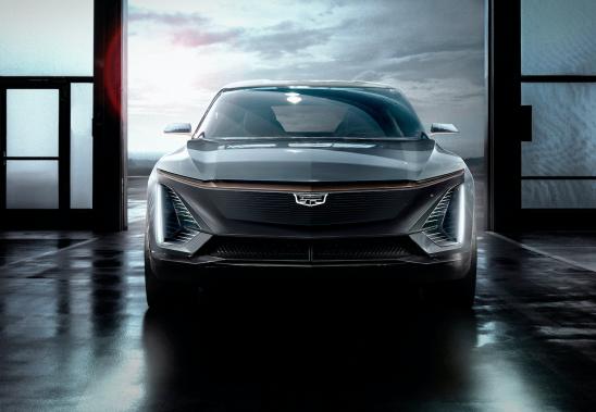 Le futur multisegment électrique Cadillac. Il n'a pas de nom encore. (Photo Cadillac)