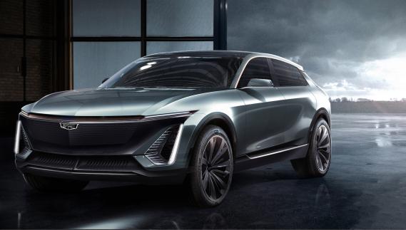Le futur multisegment électrique Cadillac. La date de lancement n'a pas été précisée. (Photo Cadillac)