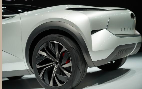 Infiniti a montré le QX Inspiration au Salon de l'auto de Détroit. (AFP)