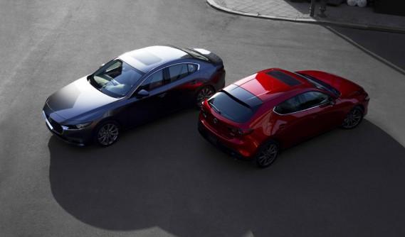 La Mazda3 (Photo fournie par Mazda)