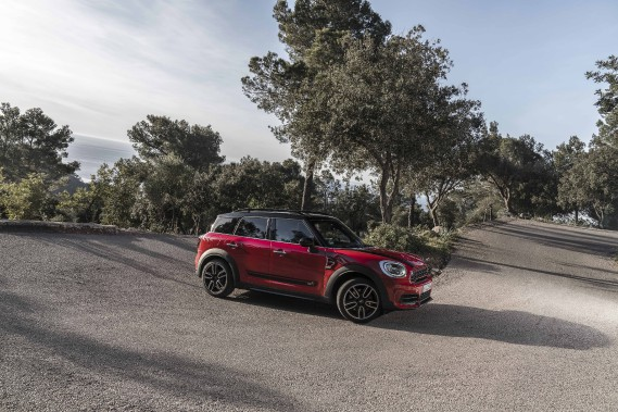 La Mini Countryman JCW (Photo fournie par Mini)