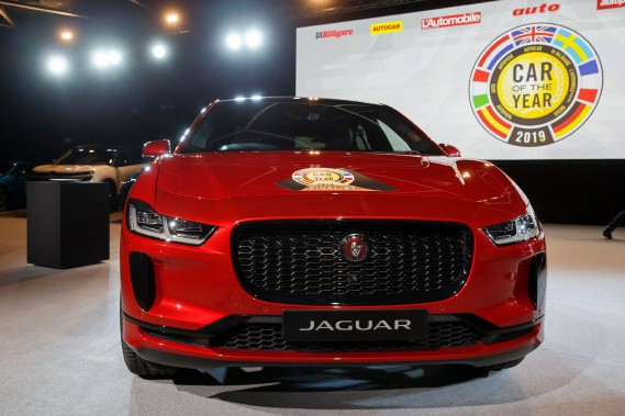 La Jaguar I-Pace, une tout électrique, élue voiture européenne de l'année