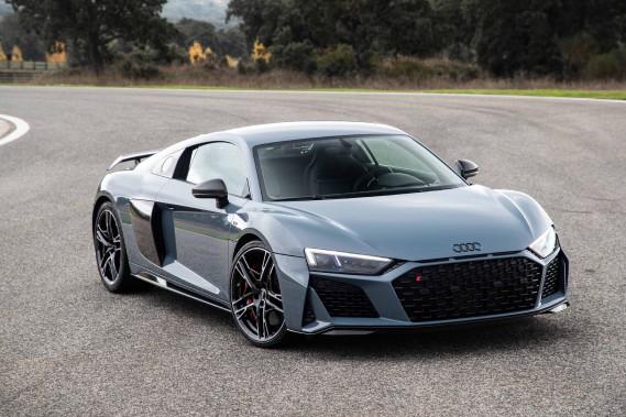 L'Audi R8, petite cousine de l'Huracán