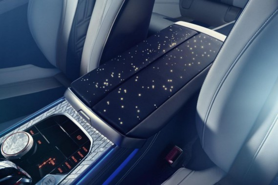 BMW M850i Night Sky - La météorite, c'est chic