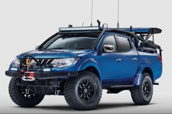 Vers une camionnette électrifiée signée Mitsubishi?