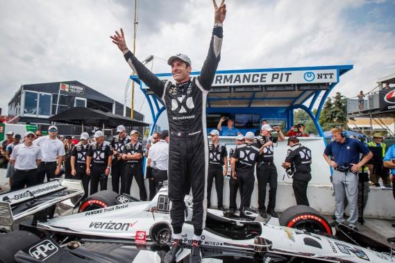 Indycar: Pagenaud décroche la position de tête à Toronto