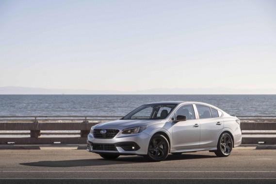 Subaru Legacy: comment gagner une guerre sur un terrain décimé