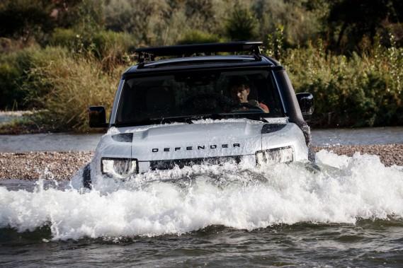 Salon de Francfort - Land Rover retourne dans le bois avec le Defender 2020