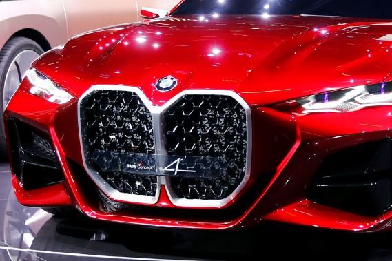 Salon de Francfort - BMW Concept 4 : quelle moustache