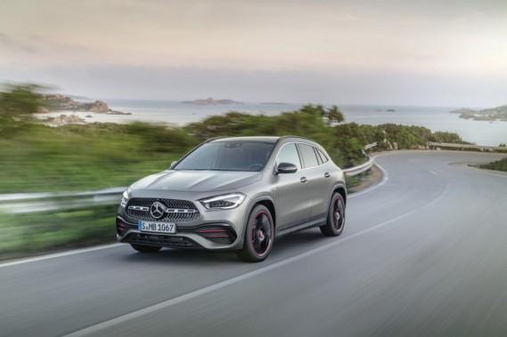 Mercedes présente son nouveau GLA