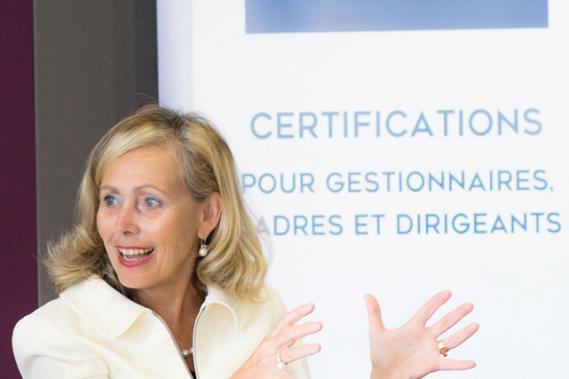 Monique Leroux est l'une des intervenantes de renom de l'Institut de leadership. ()