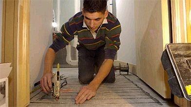 Le système de planchers chauffants ComfortZone, relativement facile...