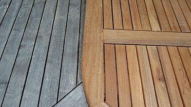 Le patio aux petits soins l a m th myrand cour et jardin - Couleur de teinture pour patio ...