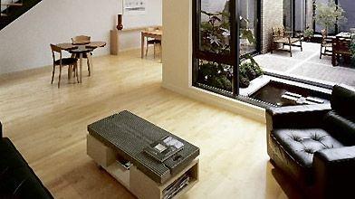 Dans la résidence Chambord, le salon donne sur...