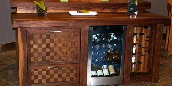Du bois pour une cuisine somptueuse mich le laferri re Cuisine avec ilo