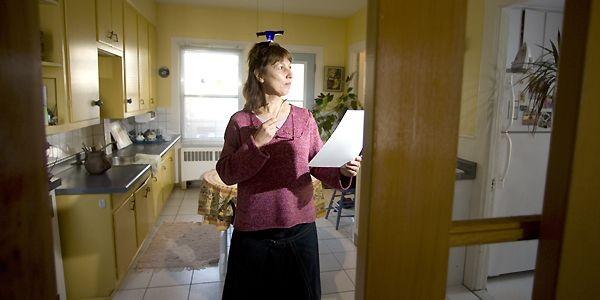 Marie-Christine Pinel suivra les conseils de l'architecte Guy... (Photo Alain Roberge, La Presse)