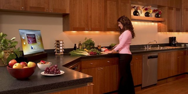 Le plan de travail de la cuisine est... (Photo fournie par Microsoft)