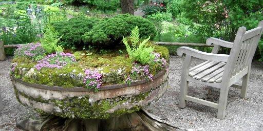 Un jardin pour méditer, un jardin pour recevoir,... (Photo Éric Clément, La Presse)
