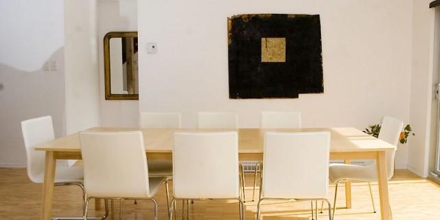 Au centre du mur, le cadre n'est en... (Photo Armand Trottier, La Presse)