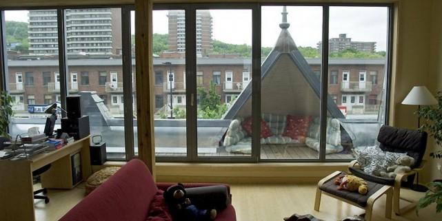 Emmanuel Blain-Cosgrove construit des maisons vertes depuis 10... (Photo Ivanoh Demers, La Presse)