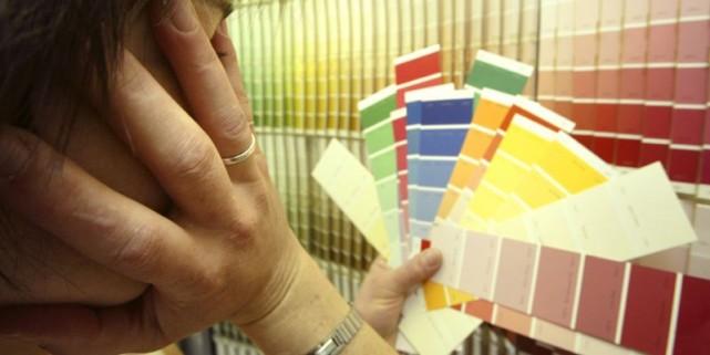 Difficile de déterminer le bon dosage de peinture dans une pièce. La règle du... (Photo André Tremblay, La Presse)