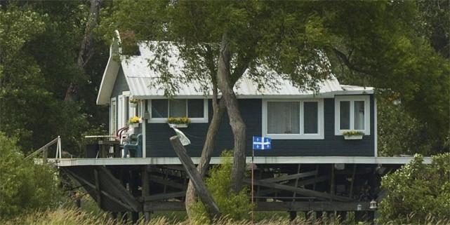 En moyenne en 2006, le prix des maison... (Photo : archives La Presse)