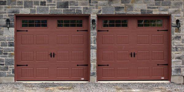 Les fabricants de portes de garage se mettent au goût du jour de manière à... (Photo fournie par Garaga)
