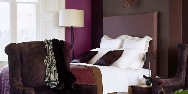 La couleur aubergine tapissera les murs ou agrémentera... (Photo fournie par Sico)