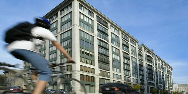 L'immeuble en copropriété 1 McGill, dans le Vieux-Montréal,... (Photo André Tremblay, La Presse)