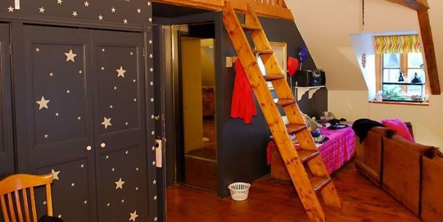 Un «escalier de meunier» trouvé sur le chemin,... (Photo Patrice Laroche, Le Soleil)