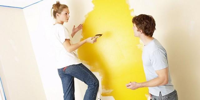 Une seule couche. Pas d'apprêt. Le rêve d'un peintre paresseux est sur le point...