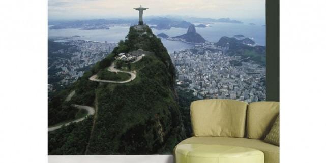 Une des nouvelles merveilles du monde: le Christ... (Photo fournie par Muralunique.com)