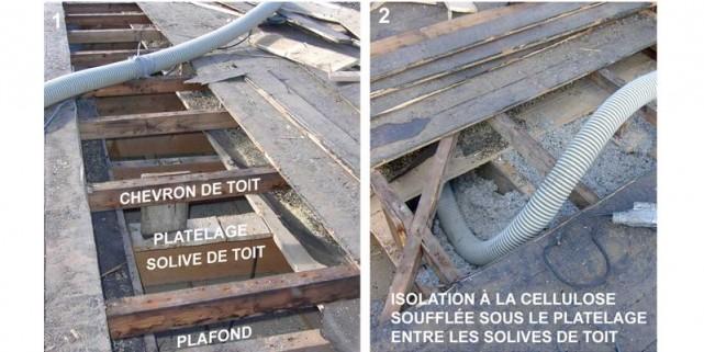 On peut profiter de la réfection d'un toit... (Photo: Guides Perrier)