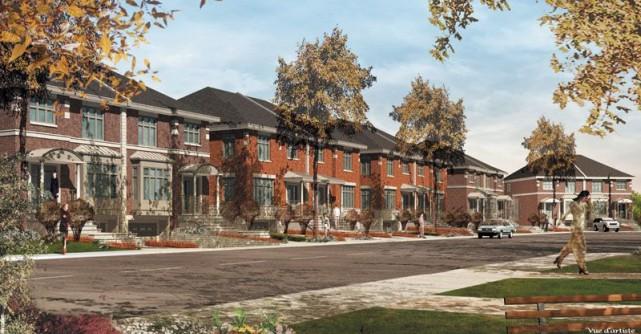 À Rivière-des-Prairies, les jeunes familles peuvent encore trouver des maisons... (Photo fournie par St-Luc Habitation)