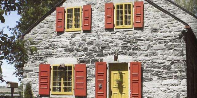 La maison Roy est située à Saint-Blaise-sur-Richelieu.... (Photo tirée de Belles maisons québécoises)
