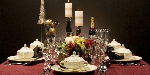 Une table d'allure classique.... (Photo David Boily, La Presse)