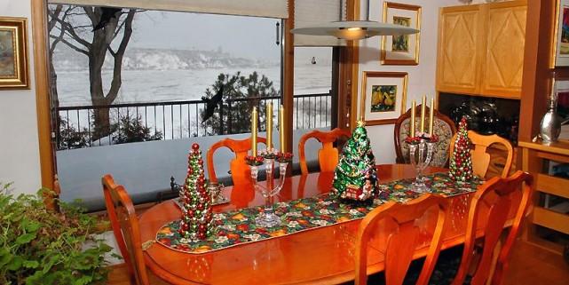 La salle à manger présente une vue insolite... (Photo Jean-Marie Villeneuve, Le Soleil)