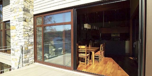 Des portes et fenêtres bien agencées avec le... (Photo archives La Presse)
