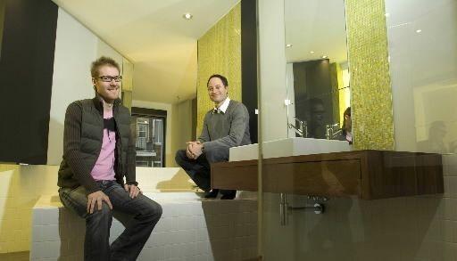 Marc-André Plasse, 34 ans, (à gauche) et Stéphane... (Photo André Tremblay, La Presse)