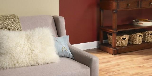 Un agencement judicieux de trois couleurs peut transformer une pièce ordinaire... (Photo fournie par Peintures PARA)