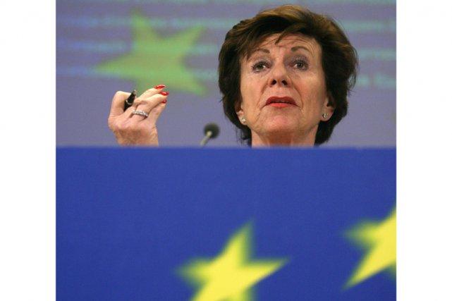 La responsable de la concurrence à la Commission... (AFP)