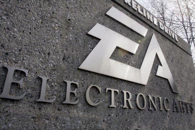 Le siège social d'Electronic Arts à Redwood City,... (AP)