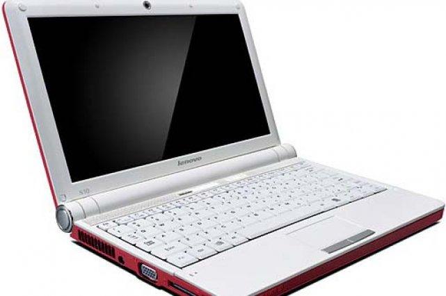 L'IdeaPad S10 de Lenovo...