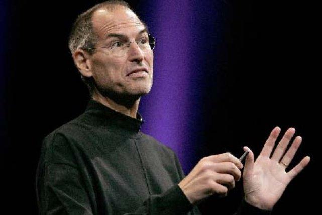 Steve Jobs, cofondateur d'Apple... (Reuters)